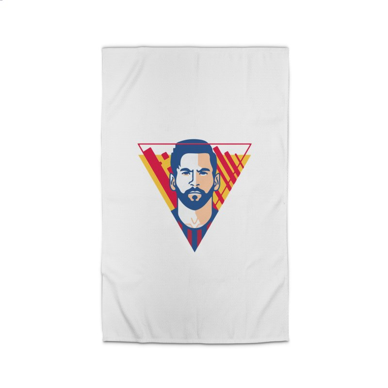 Messi Vector Home Rug by BM Design Shop