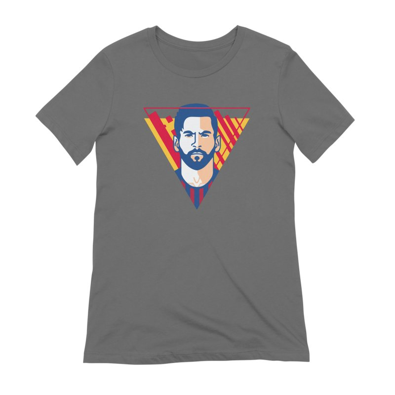 Messi Vector Women's T-Shirt by BM Design Shop
