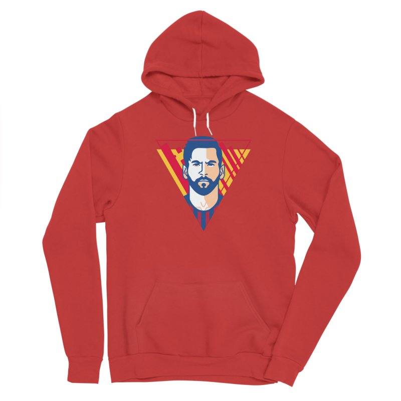Messi Vector Men's Pullover Hoody by BM Design Shop