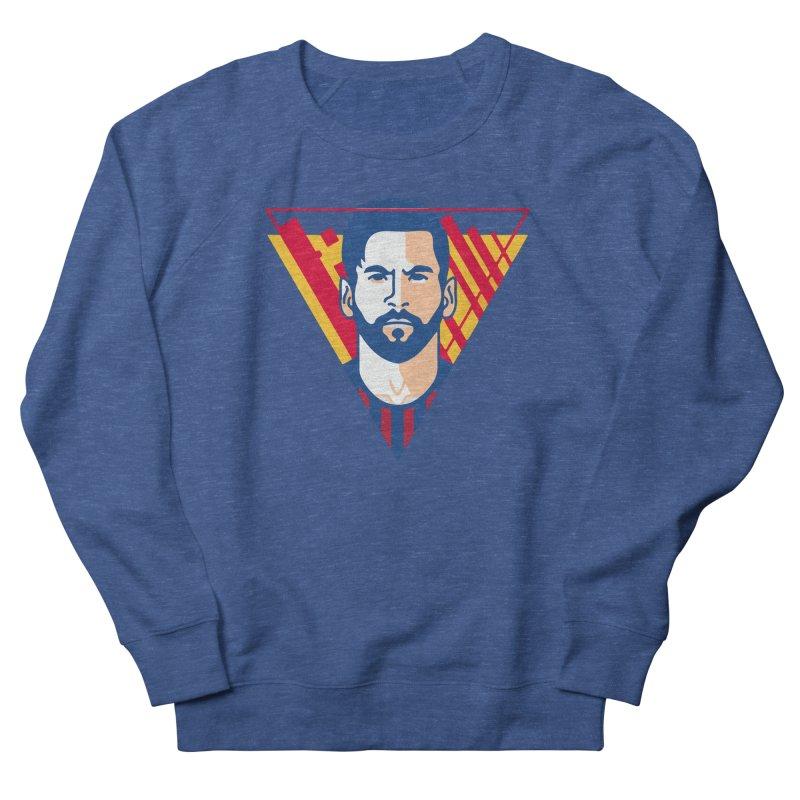 Messi Vector Men's Sweatshirt by BM Design Shop