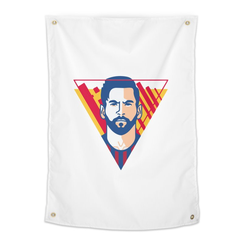 Messi Vector Home Tapestry by BM Design Shop