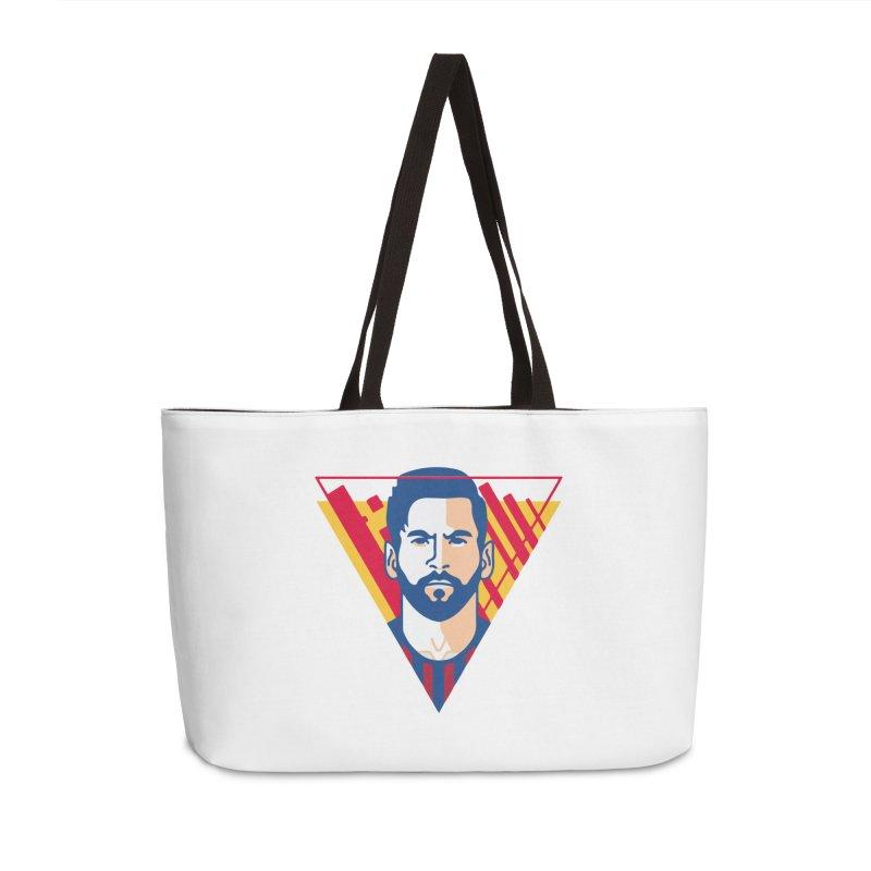 Messi Vector Accessories Bag by BM Design Shop