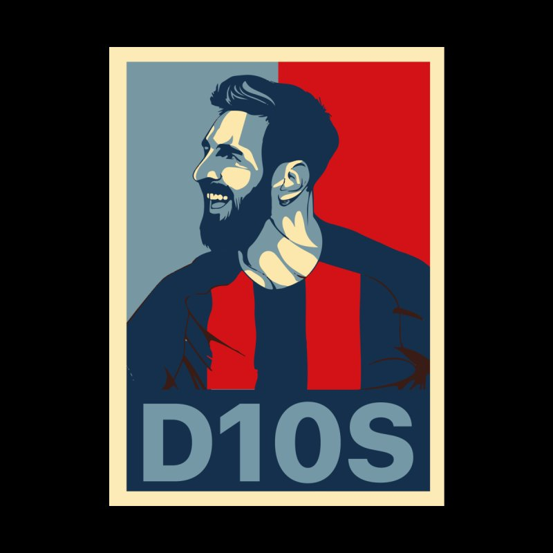 Vote Messi for D10S Accessories Greeting Card by BM Design Shop