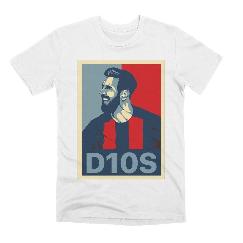 Vote Messi for D10S Men's T-Shirt by BM Design Shop