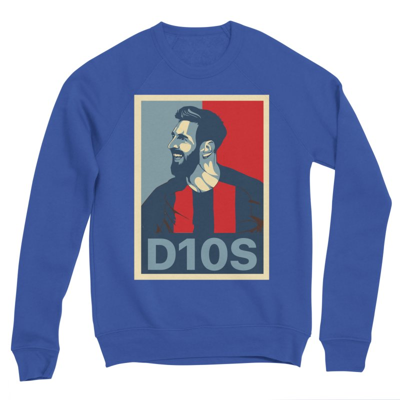 Vote Messi for D10S Men's Sweatshirt by BM Design Shop