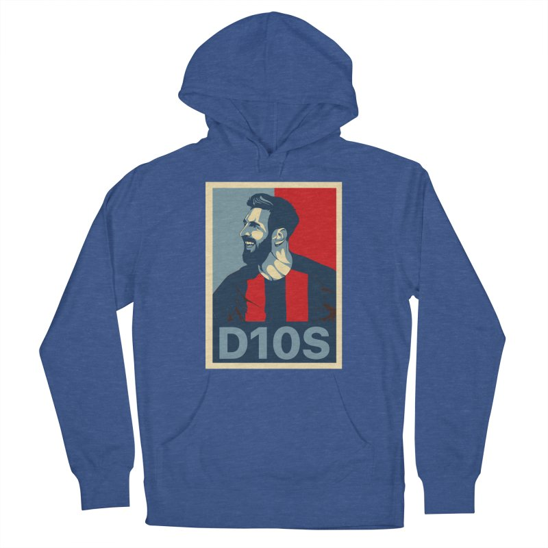 Vote Messi for D10S Women's Pullover Hoody by BM Design Shop