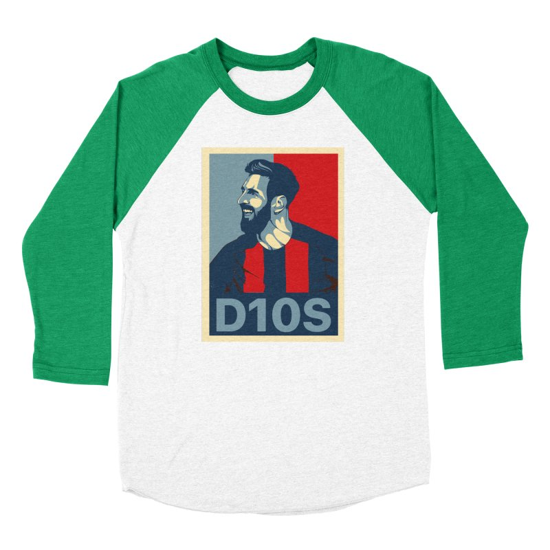Vote Messi for D10S Women's Longsleeve T-Shirt by BM Design Shop