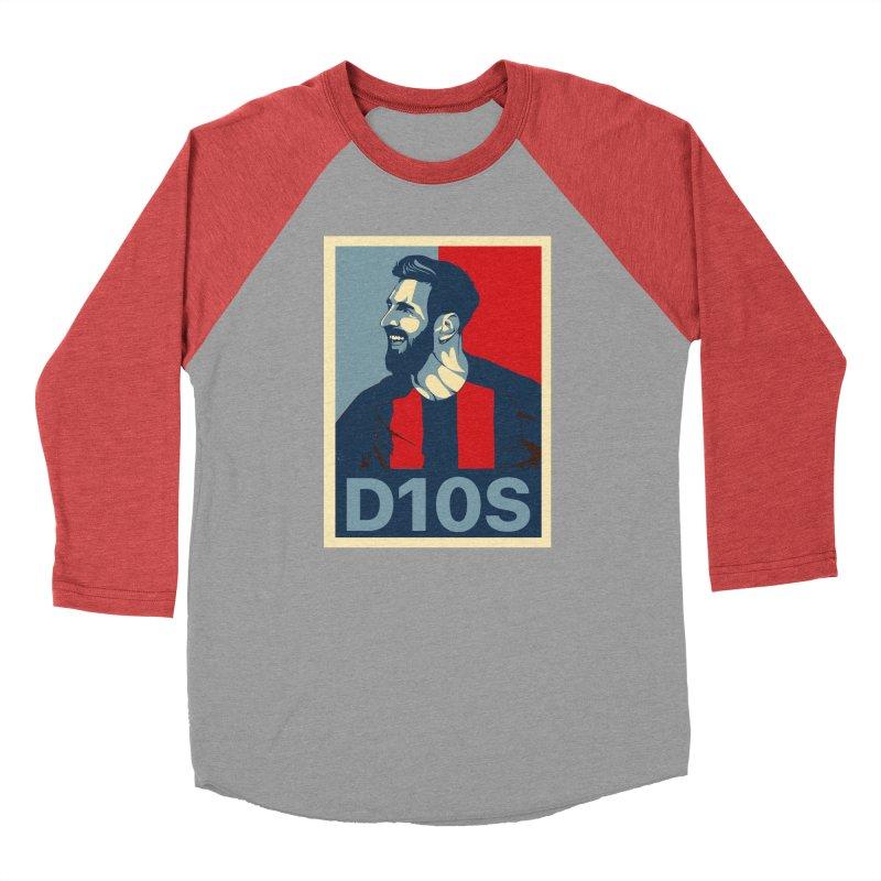Vote Messi for D10S Men's Longsleeve T-Shirt by BM Design Shop