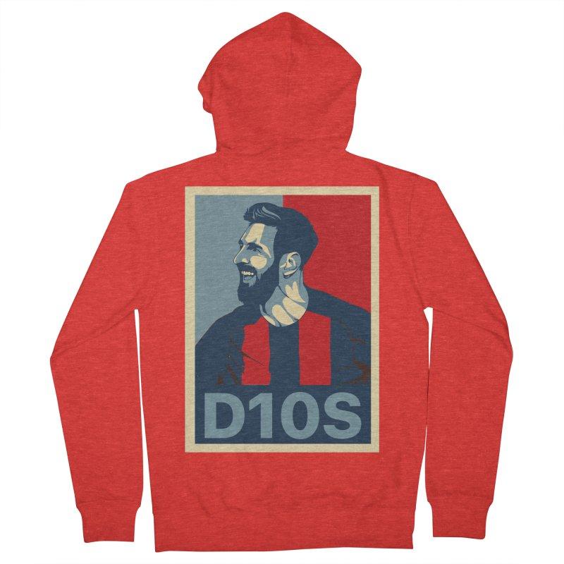 Vote Messi for D10S Women's Zip-Up Hoody by BM Design Shop