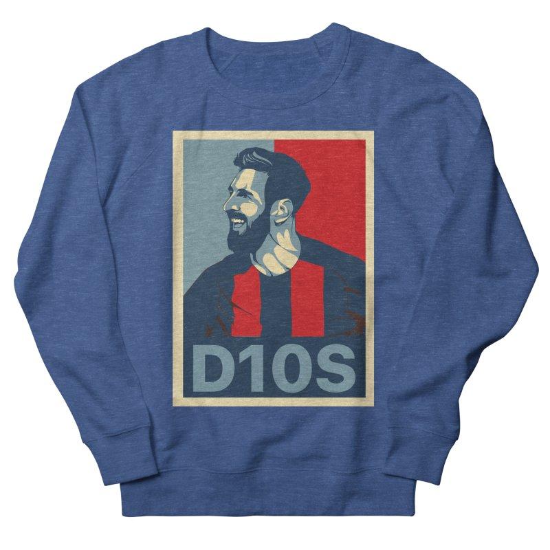 Vote Messi for D10S Women's Sweatshirt by BM Design Shop