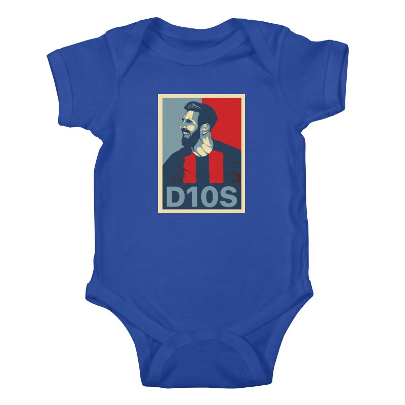 Vote Messi for D10S Kids Baby Bodysuit by BM Design Shop