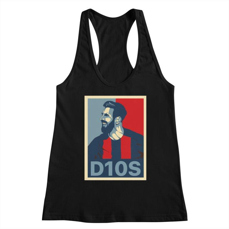 Vote Messi for D10S Women's Tank by BM Design Shop