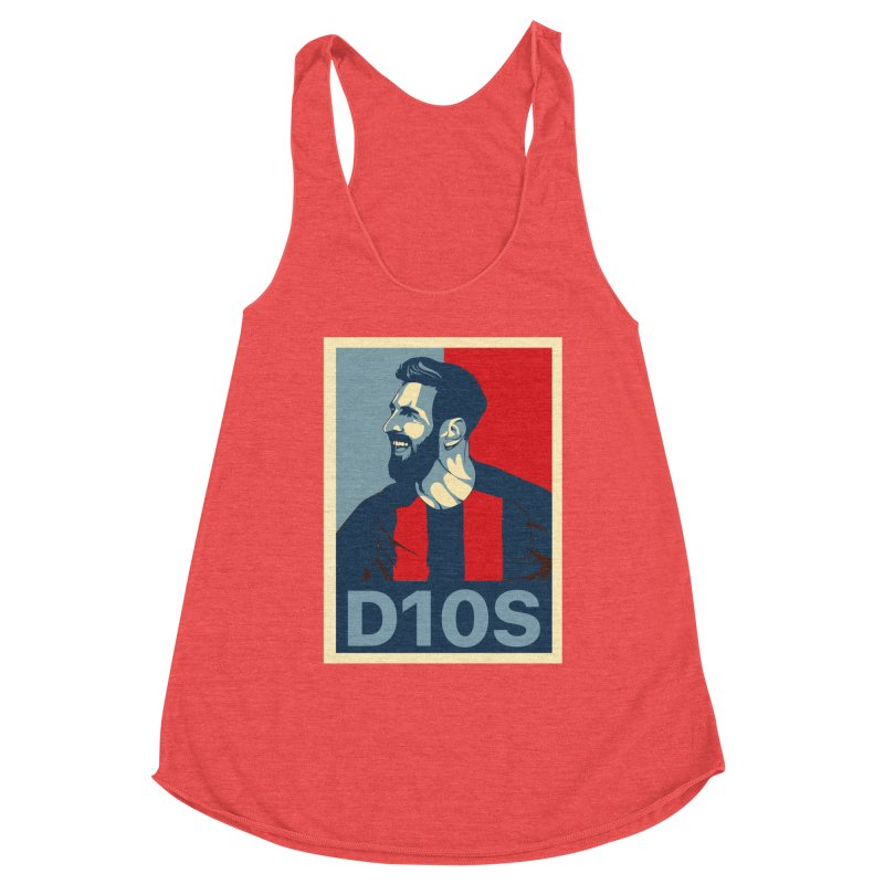 Vote Messi for D10S Women's Tank by BM Design Shop