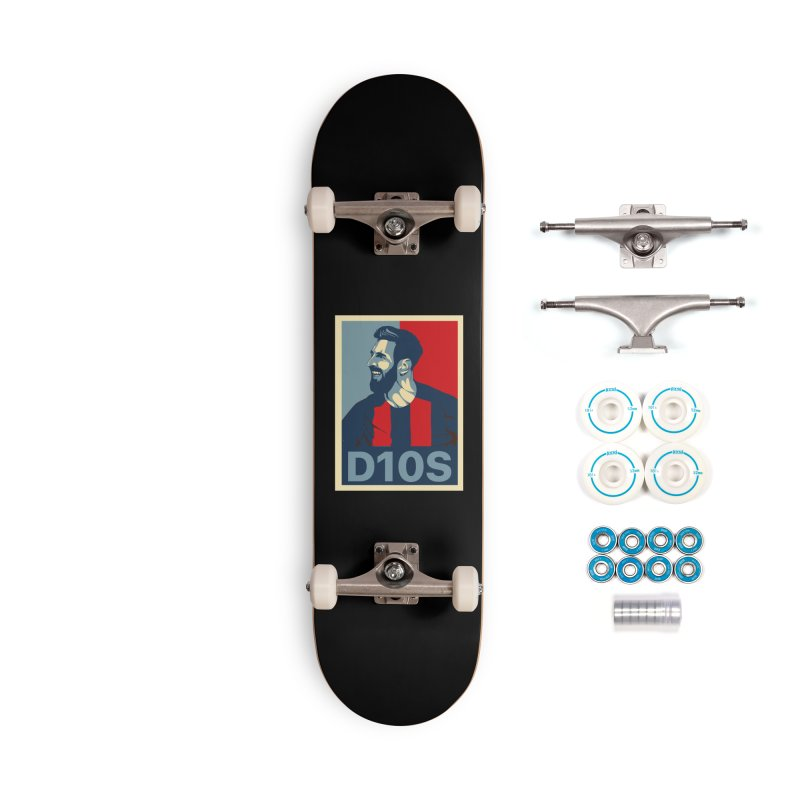 Vote Messi for D10S Accessories Skateboard by BM Design Shop