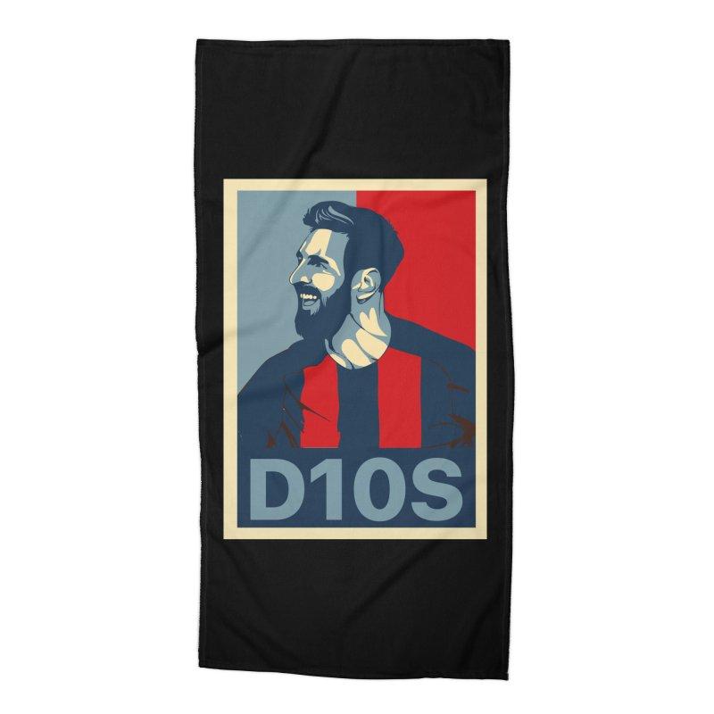 Vote Messi for D10S Accessories Beach Towel by BM Design Shop