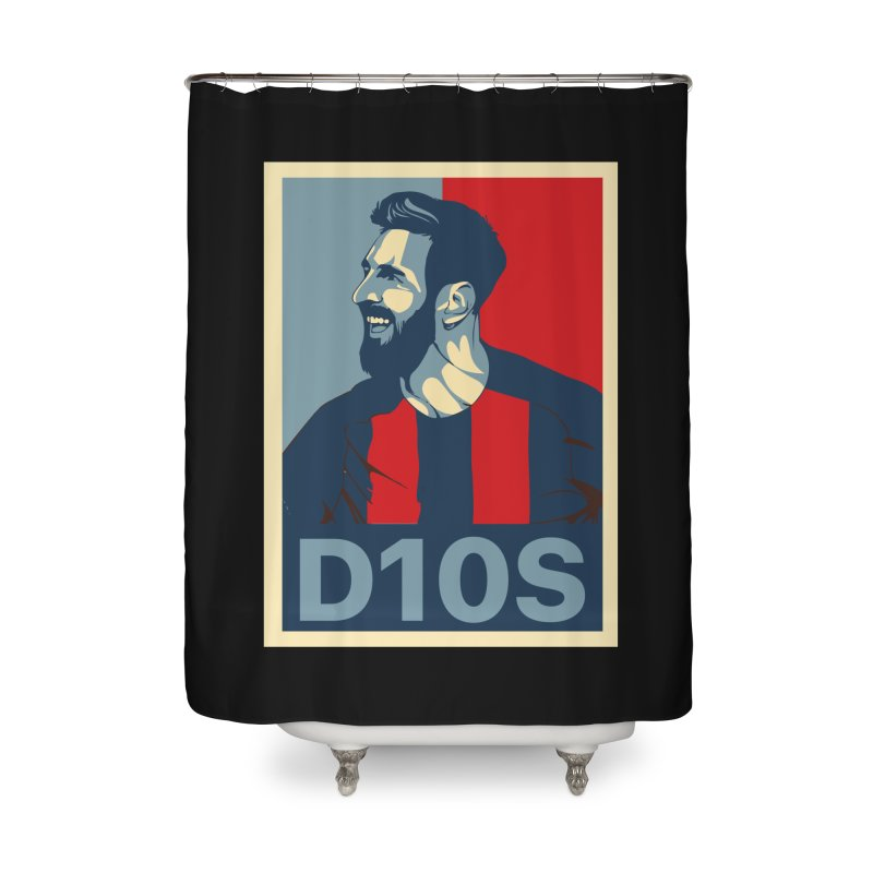 Vote Messi for D10S Home Shower Curtain by BM Design Shop