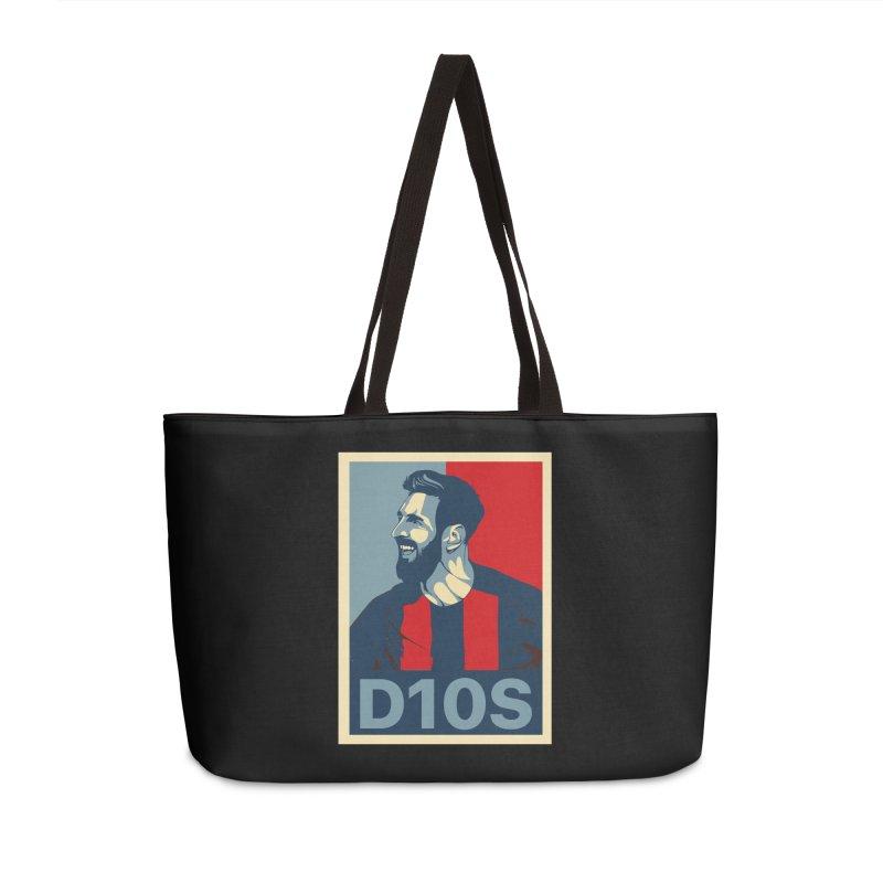 Vote Messi for D10S Accessories Bag by BM Design Shop