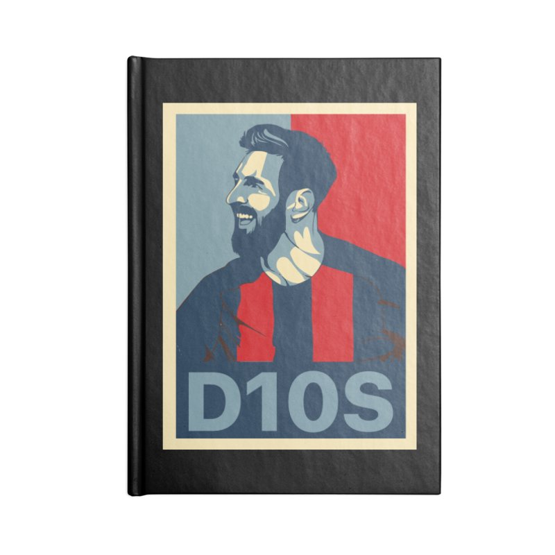 Vote Messi for D10S Accessories Notebook by BM Design Shop