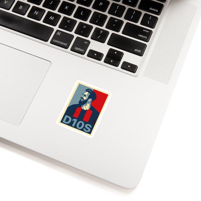 Vote Messi for D10S Accessories Sticker by BM Design Shop