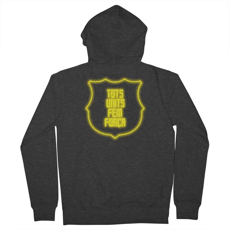 Glow glow Men's Zip-Up Hoody by BM Design Shop