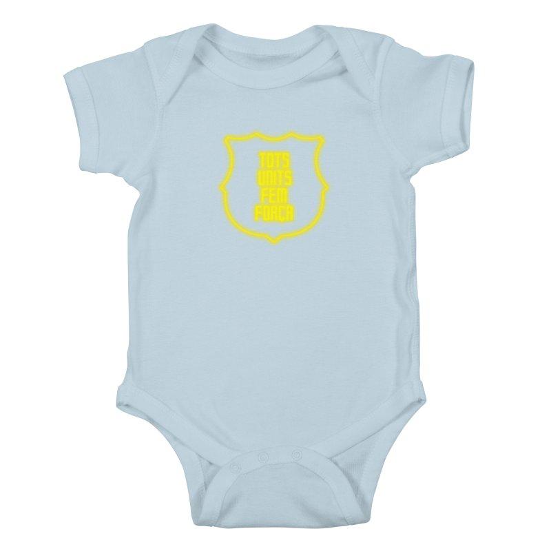 Glow glow Kids Baby Bodysuit by BM Design Shop
