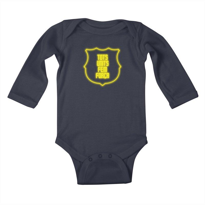 Glow glow Kids Baby Longsleeve Bodysuit by BM Design Shop