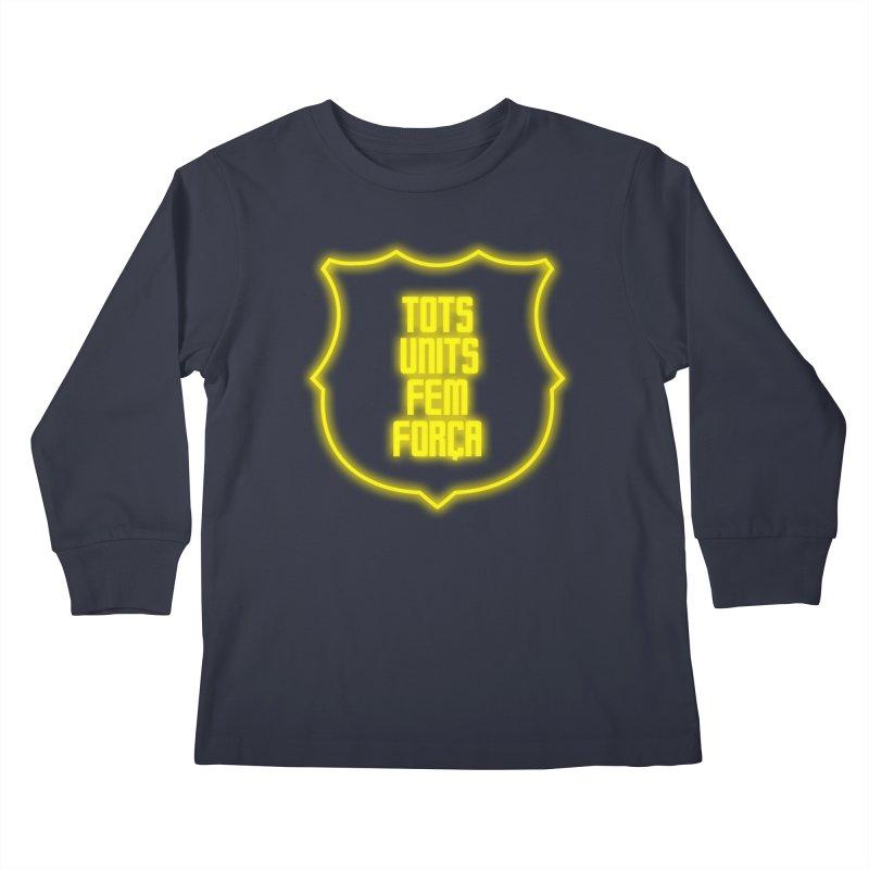 Glow glow Kids Longsleeve T-Shirt by BM Design Shop