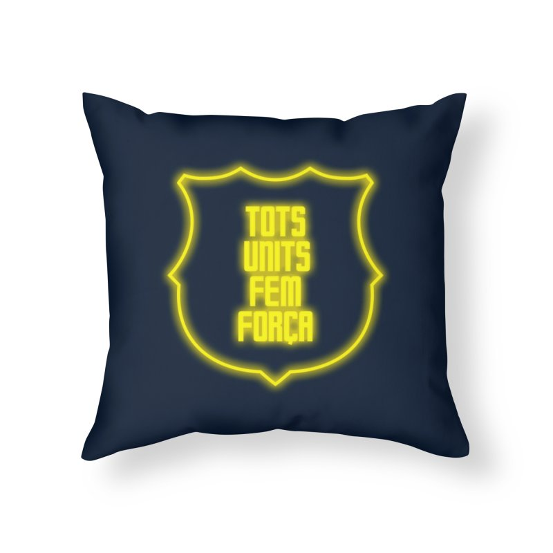 Glow glow Home Throw Pillow by BM Design Shop