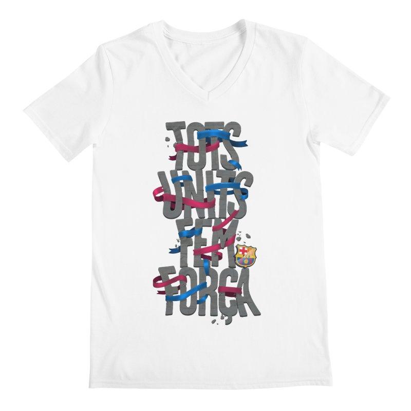 Tots BG Men's V-Neck by BM Design Shop