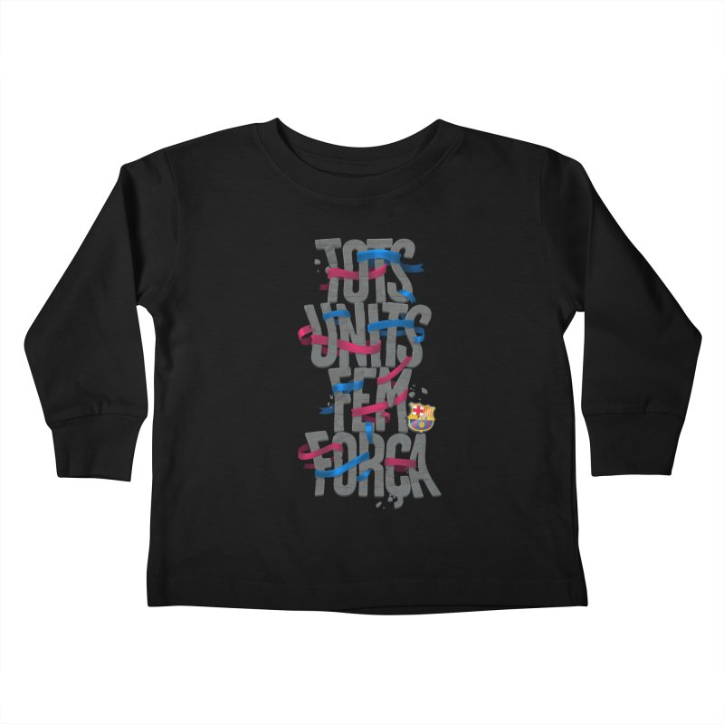 Tots BG Kids Toddler Longsleeve T-Shirt by BM Design Shop