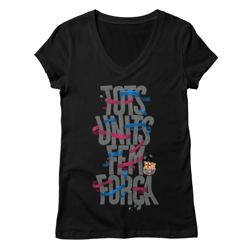 Tots BG Women's V-Neck by BM Design Shop