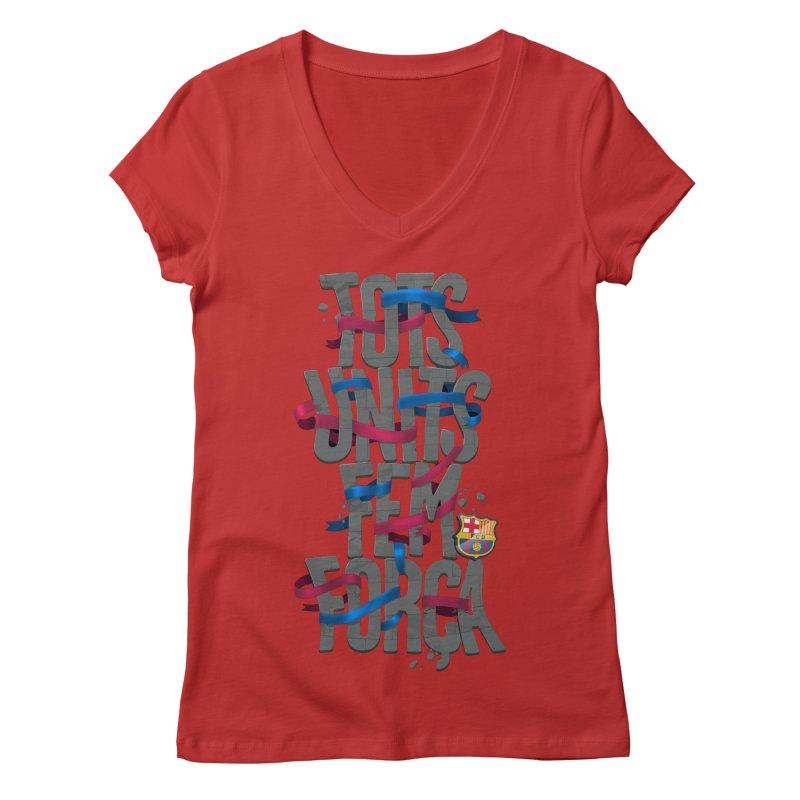 Tots BG Women's V-Neck by BM Design Shop
