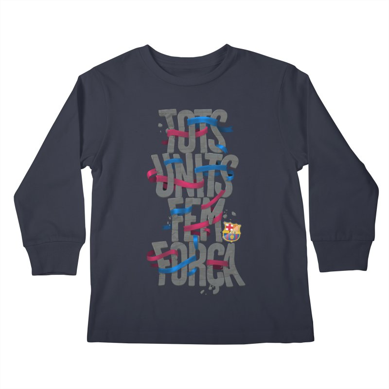 Tots BG Kids Longsleeve T-Shirt by BM Design Shop
