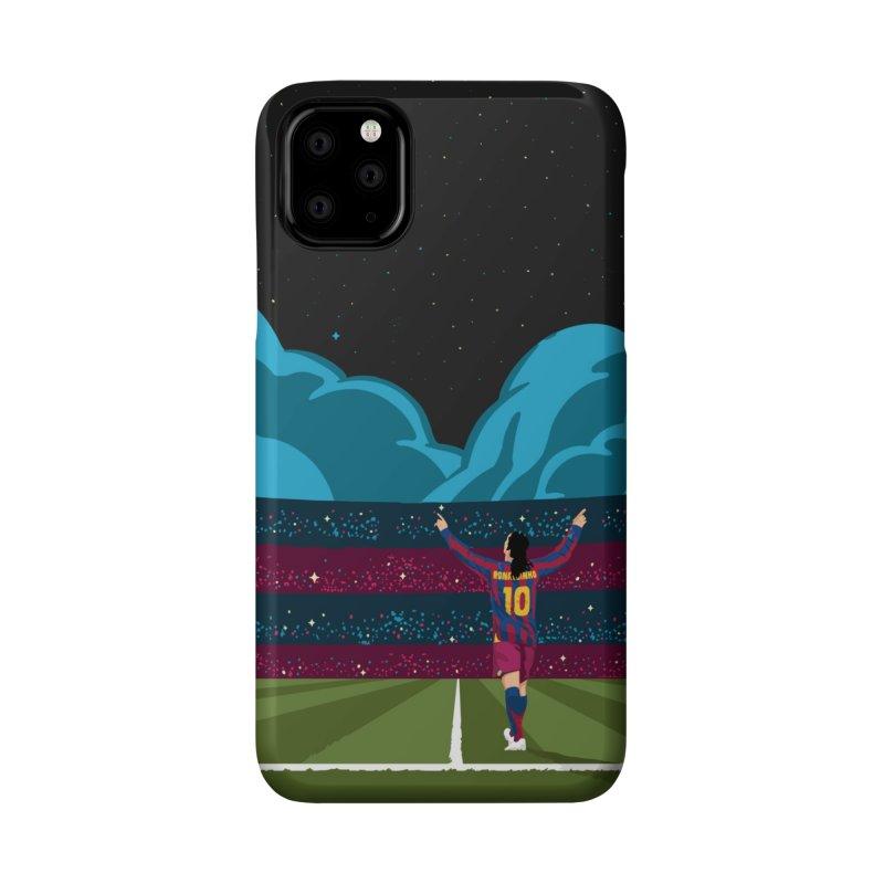 Ronaldinho quote Accessories Phone Case by BM Design Shop