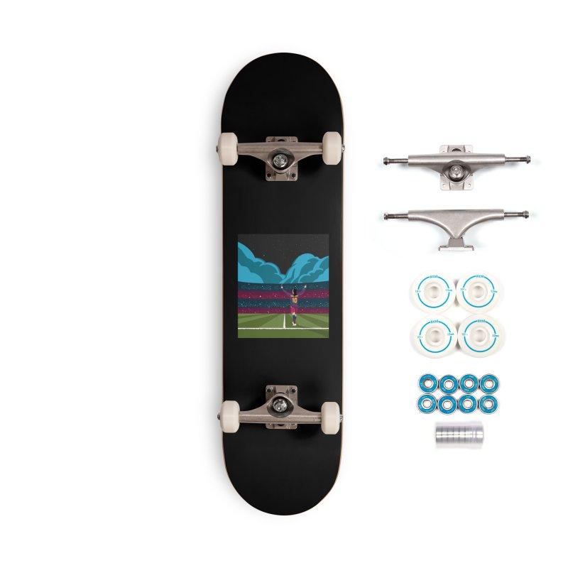 Ronaldinho quote Accessories Skateboard by BM Design Shop