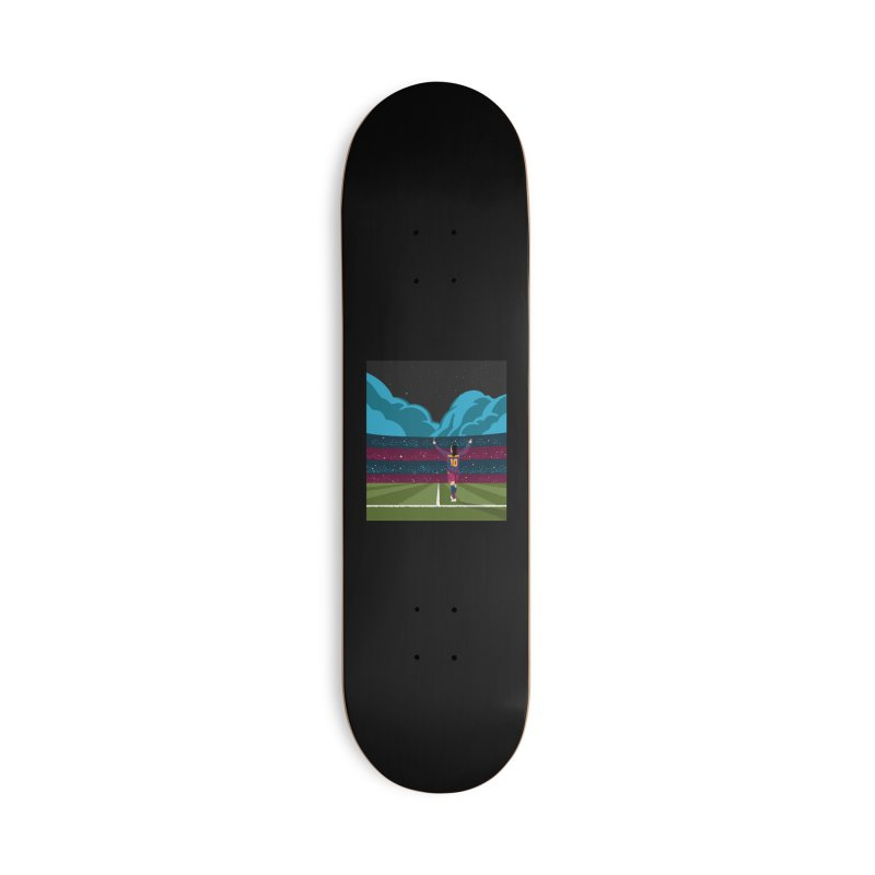 Ronaldinho quote Accessories Skateboard by BM Design Shop