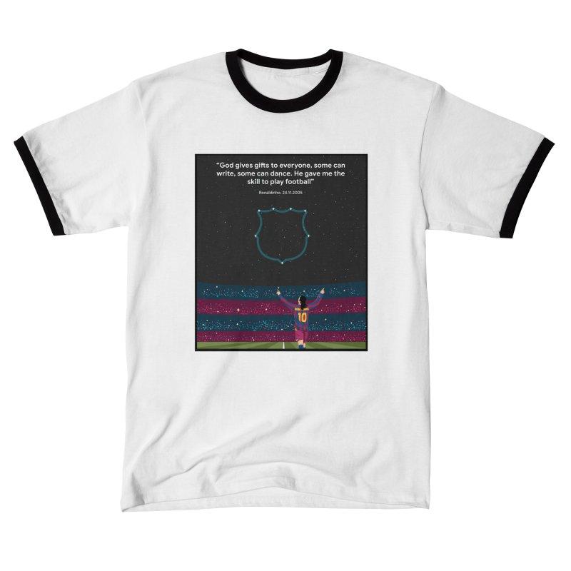 Ronaldinho quote Women's T-Shirt by BM Design Shop