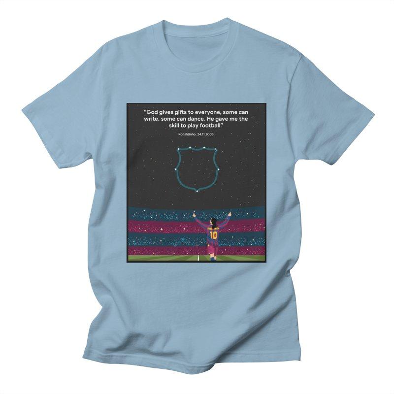 Ronaldinho quote Men's T-Shirt by BM Design Shop
