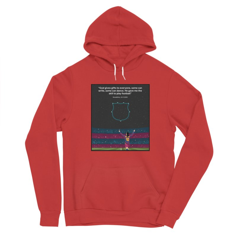 Ronaldinho quote Men's Pullover Hoody by BM Design Shop