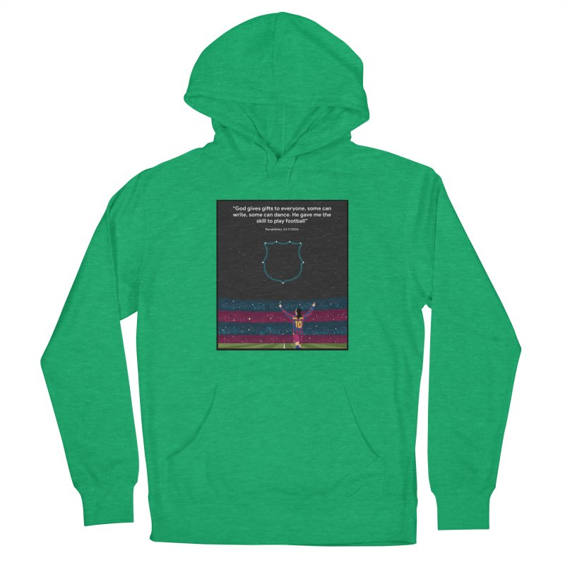 Ronaldinho quote Women's Pullover Hoody by BM Design Shop