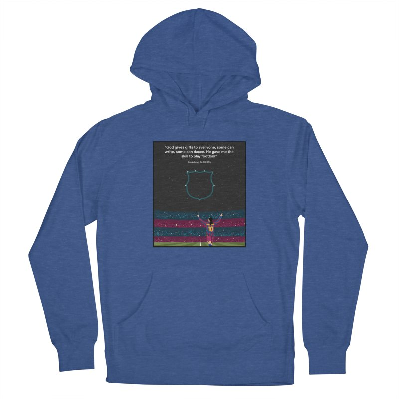 Ronaldinho quote Men's Pullover Hoody by BM Design Shop