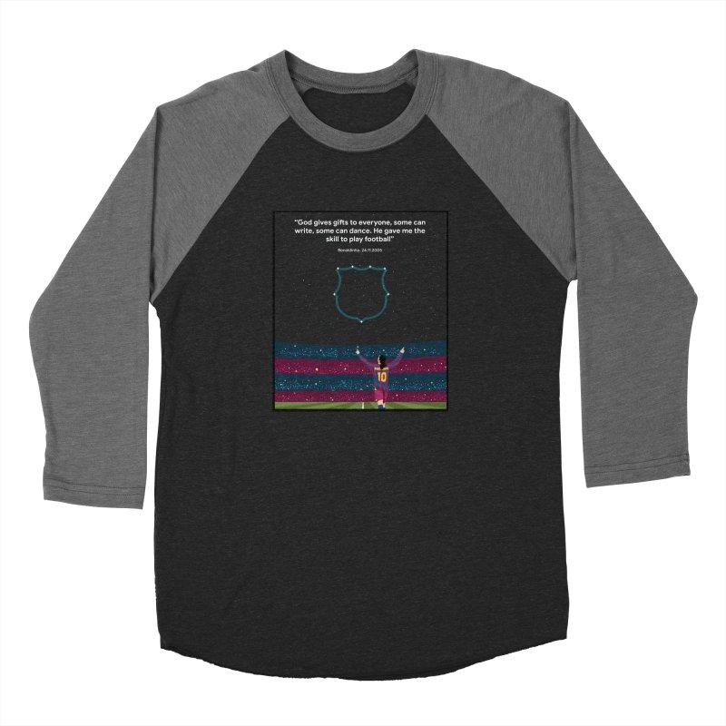 Ronaldinho quote Women's Longsleeve T-Shirt by BM Design Shop