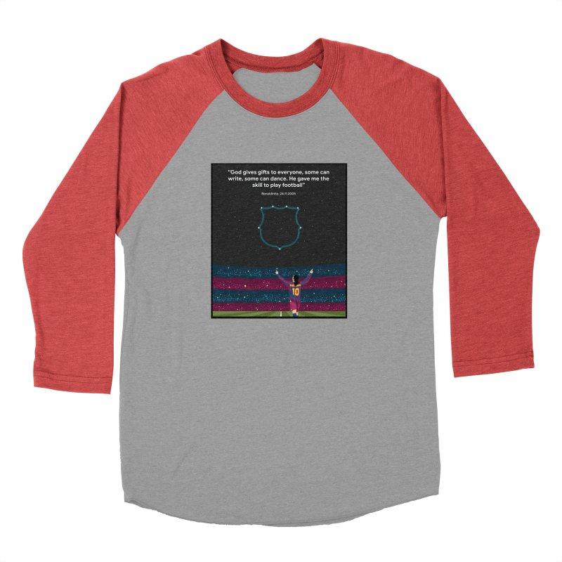 Ronaldinho quote Men's Longsleeve T-Shirt by BM Design Shop