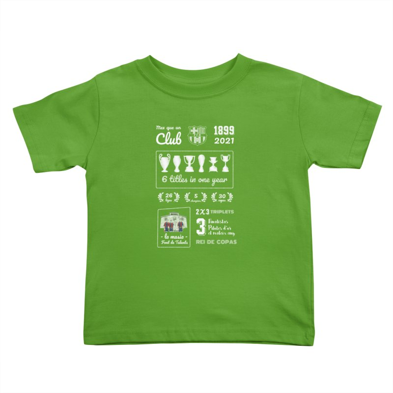 What a club (All colors) Kids Toddler T-Shirt by BM Design Shop