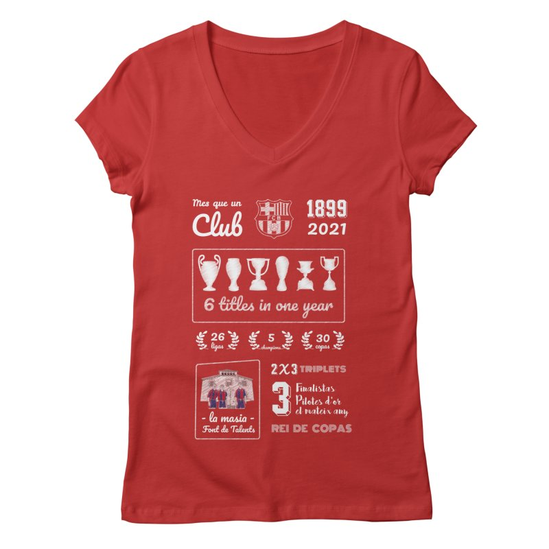 What a club (All colors) Women's V-Neck by BM Design Shop
