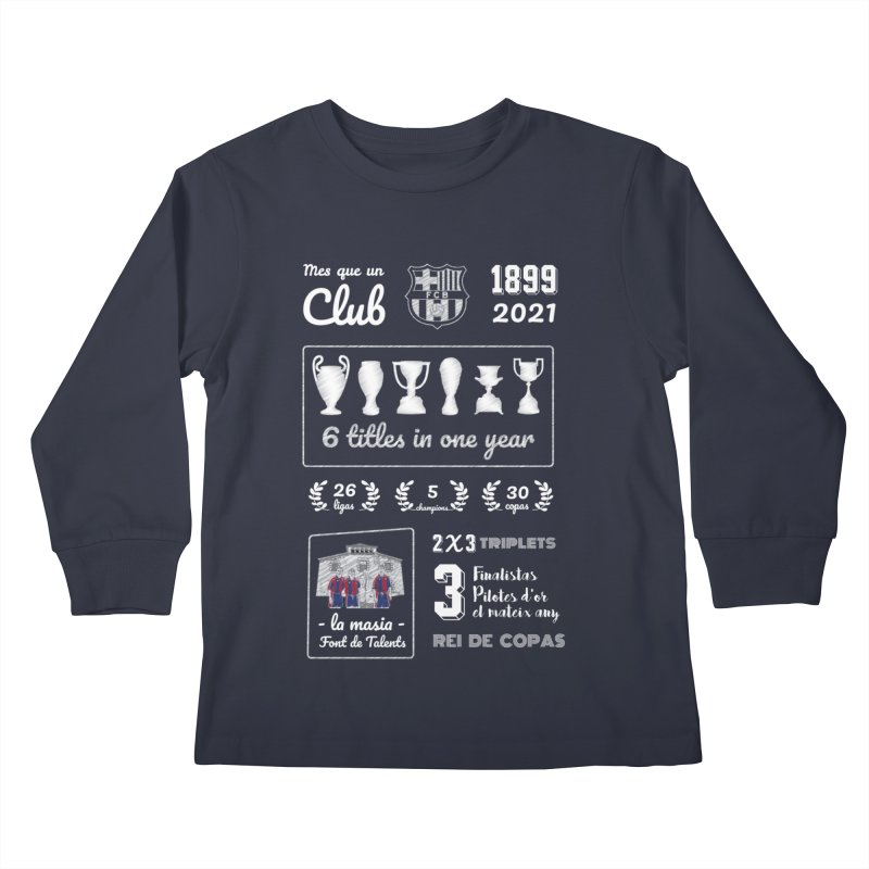 What a club (All colors) Kids Longsleeve T-Shirt by BM Design Shop