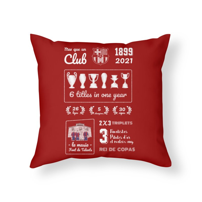 What a club (All colors) Home Throw Pillow by BM Design Shop