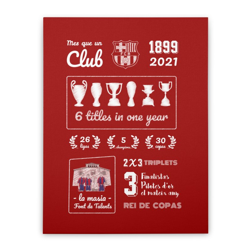 What a club (All colors) Home Stretched Canvas by BM Design Shop