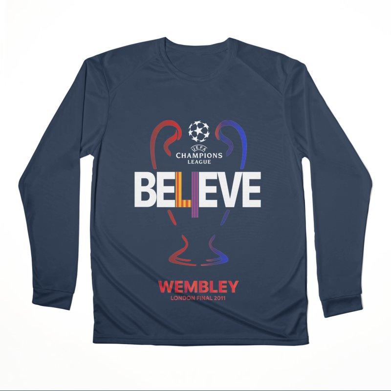 Wembley Final 2011 Women's Longsleeve T-Shirt by BM Design Shop