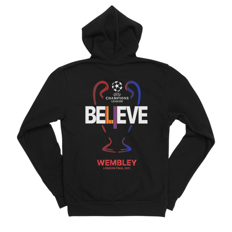 Wembley Final 2011 Women's Zip-Up Hoody by BM Design Shop